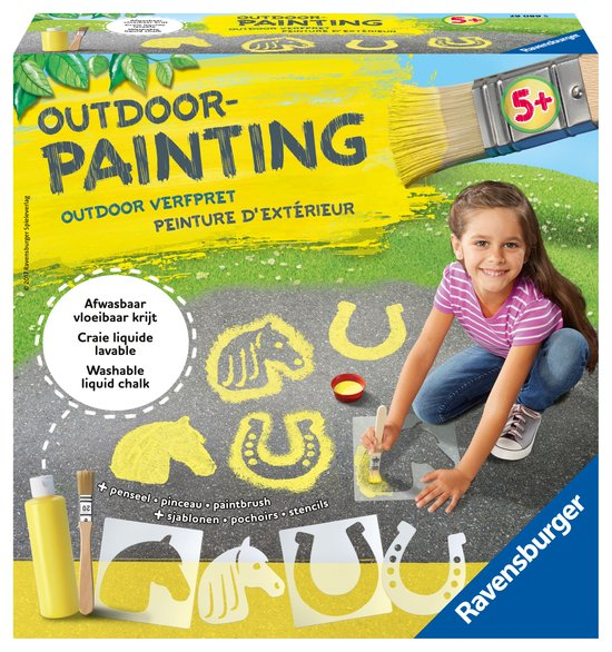 outdoor painting Horses