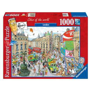 puzzel Fleroux Cities of the world: London - 1000 stukjes