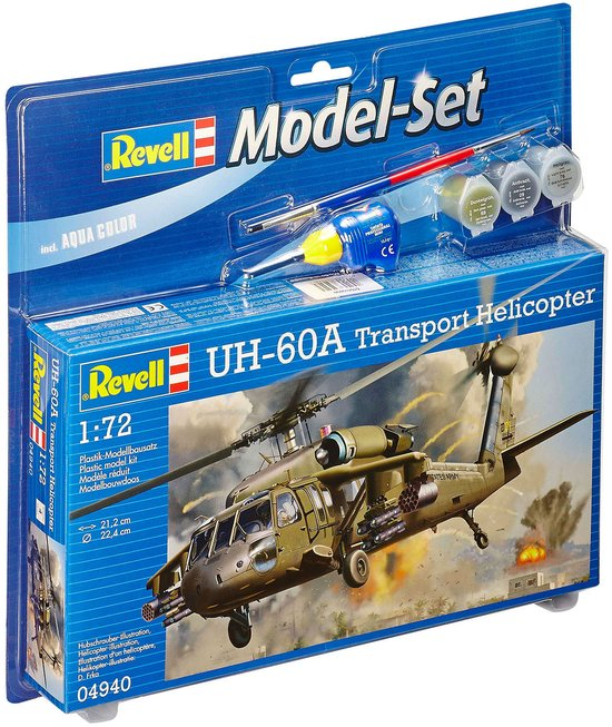 Revell Model Set UH-60A Transport Heli