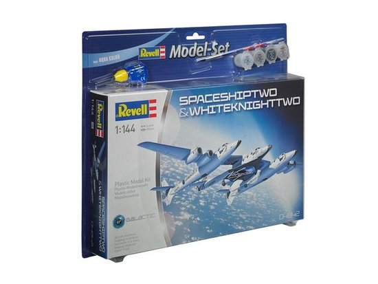 Revell Vliegtuig Space Ship Two & Carrier - Bouwpakket - 1:144