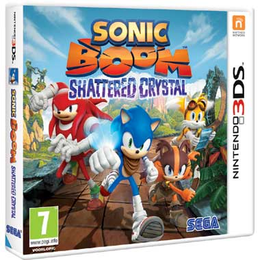 Sonic Boom: Shattered Crystal voor 3DS
