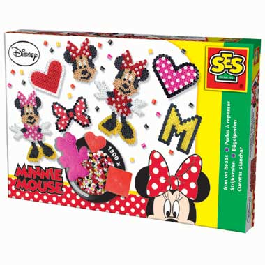 Disney Minnie Mouse strijkkralenset - 1800 kralen