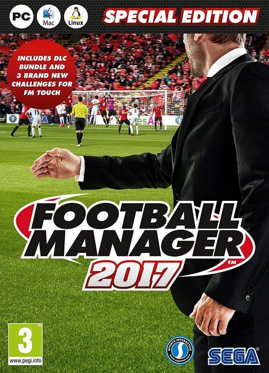 Football Manager 2017 Special Edition (Day One Edition) -