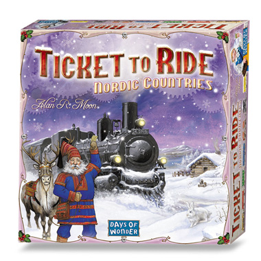 Ticket To Ride Nordic Countries bordspel