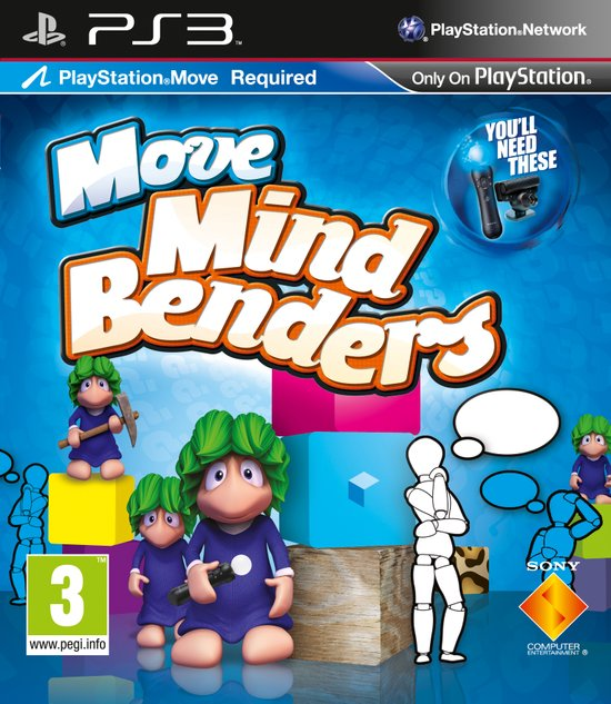 Move Mind Benders - PlayStation Move -