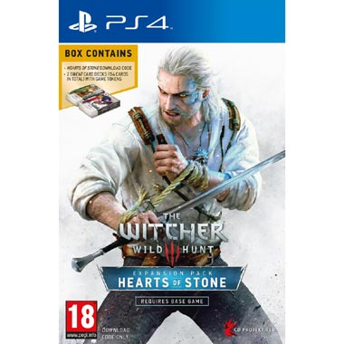 The Witcher 3: Wild Hunt - Hearts of Stone DLC voor PS4