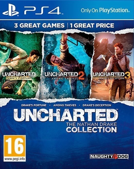 Uncharted: The Nathan Drake Collection - PS4 (Import Versie)