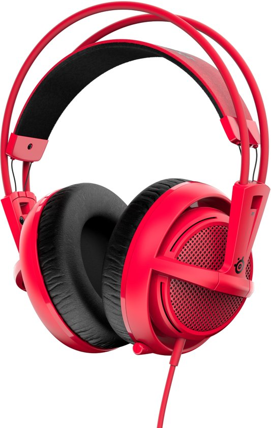 SteelSeries Siberia 200 - Gaming Headset - Forged Red - PC + PS4 + MAC + Xbox One + PS3 - Accessoires