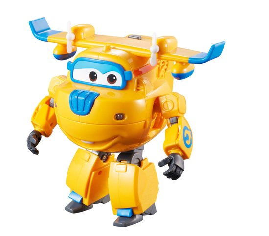 Super Wings  Transform 'n Talk - Donnie -  Speelfiguur