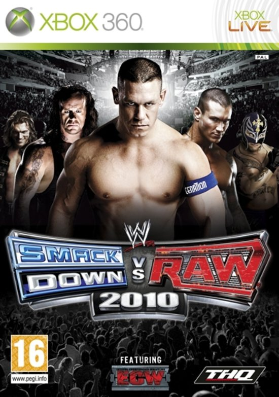 Wwe Smackdown Vs Raw 2010 voor Xbox 360