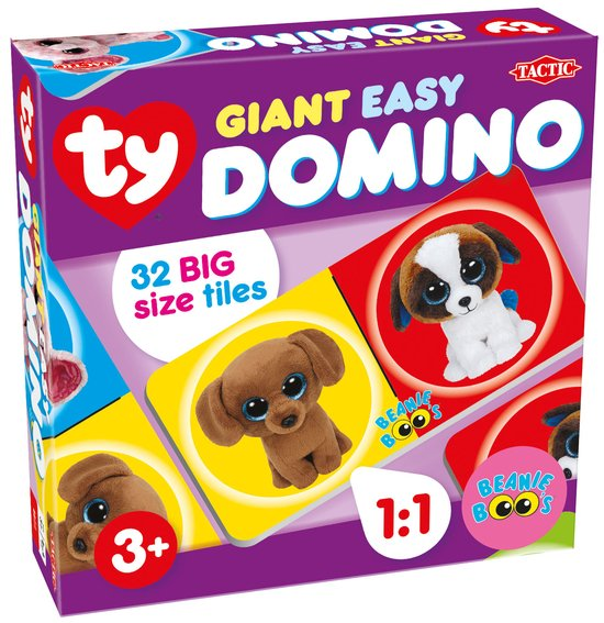 Ty Beanie Boo's Giant Easy Domino