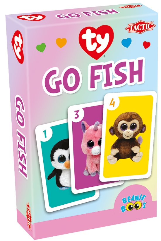 Ty Beanie Boo's Go Fish Card game