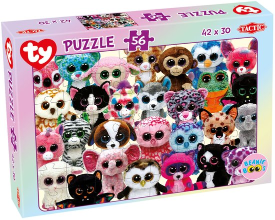 Ty Beanie Boo's Puzzle 56 pcs