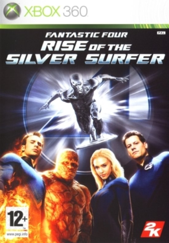 Fantastic 4: Rise Of The Silver Surfer -