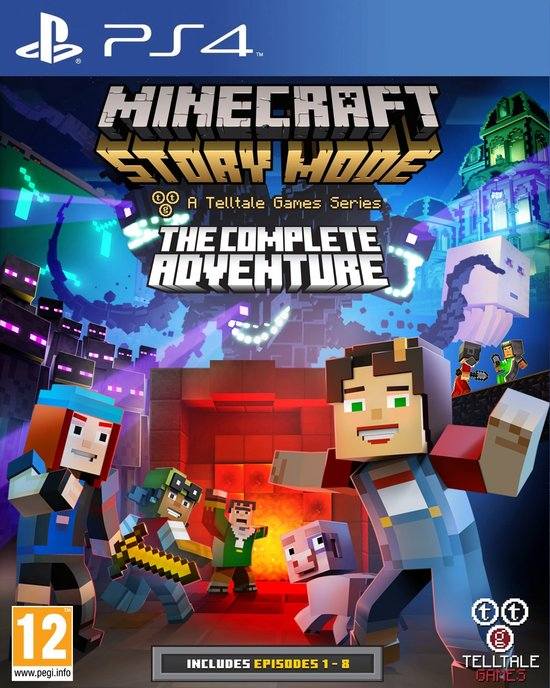 Minecraft - Story Mode: The Complete Adventure -   -