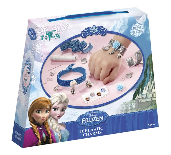 Disney Frozen Icelastic Charms