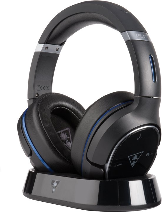 Turtle Beach Ear Force Elite 800 Wireless DTS Headphone:X 7.1 Virtueel Surround Gaming Headset - Zwart (PS4 + PS3 + Mobile) - PSP2