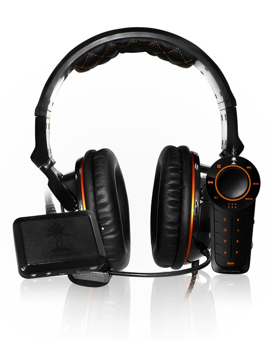 Turtle Beach Ear Force Sierra Call Of Duty: Black Ops 2 Wired 5.1 Virtueel Surround Gaming Headset - Zwart (PS3 + Xbox 360 + PC + Mac) - Webcams & Audio