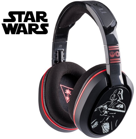 Turtle Beach Ear Force Star Wars Wired Stereo Gaming Headset - Zwart (PC + Mac + Mobile) - Tablet Accessoires