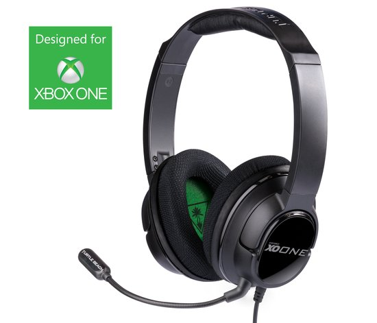 Turtle Beach Ear Force XO One Official Xbox One Wired Stereo Gaming Headset - Zwart (Xbox One) - Xbox One