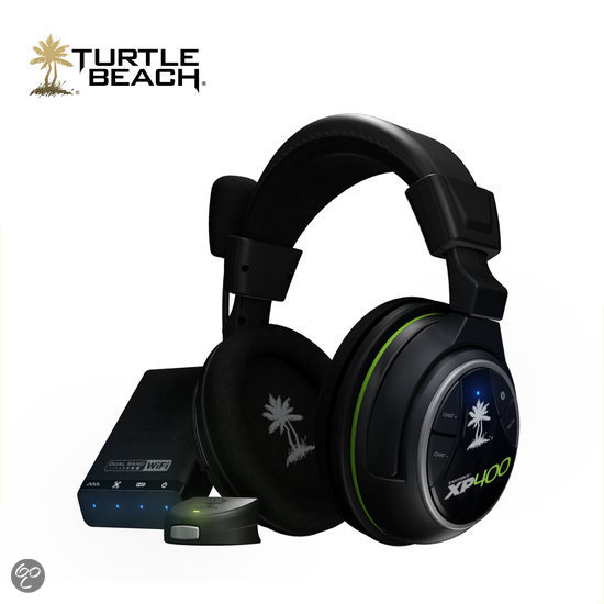 Turtle Beach Ear Force XP400 Wireless 5.1 Virtueel Surround Gaming Headset - Zwart (Xbox 360 + PS3) - Xbox