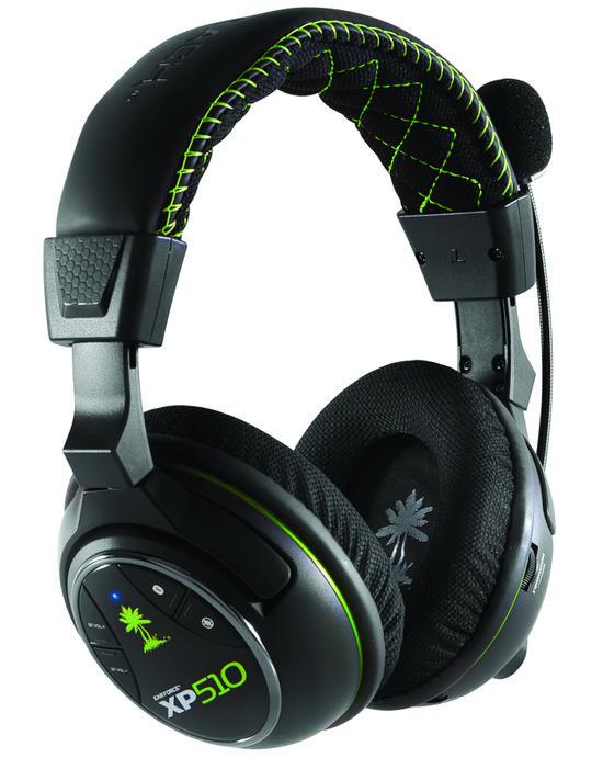 Ear Force XP510 Wireless 5.1 Virtueel Surround Gaming Headset - Zwart
