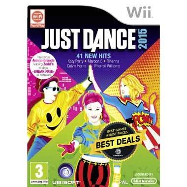 Just Dance voor Nintendo   2015