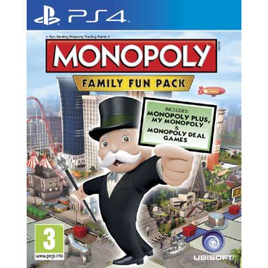 Monopoly Family Fun Pack voor