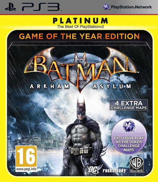 Batman: Arkham Asylum - Game of The Year Edition -