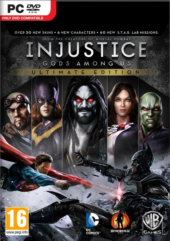 Injustice: Gods Among Us - Game of the Year Edition -