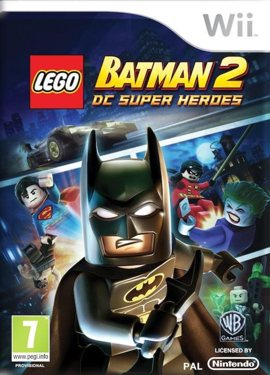 LEGO Batman 2: DC Superheroes -  WII