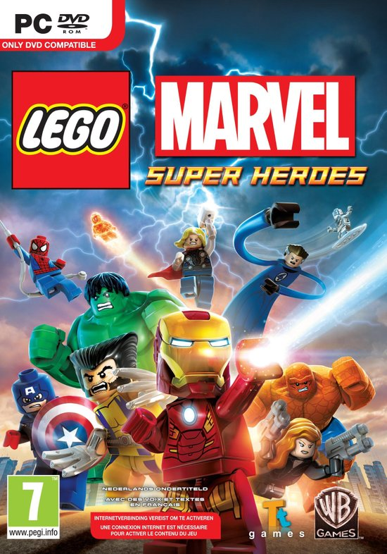LEGO Marvel Super Heroes -   game