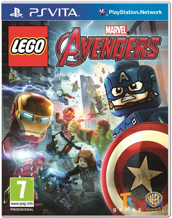 LEGO Marvels Avengers - PS Vita -