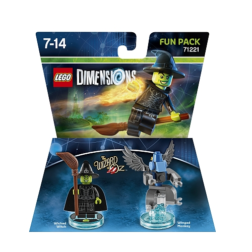 Lego dimensions - fun pack, wicked witch 71221