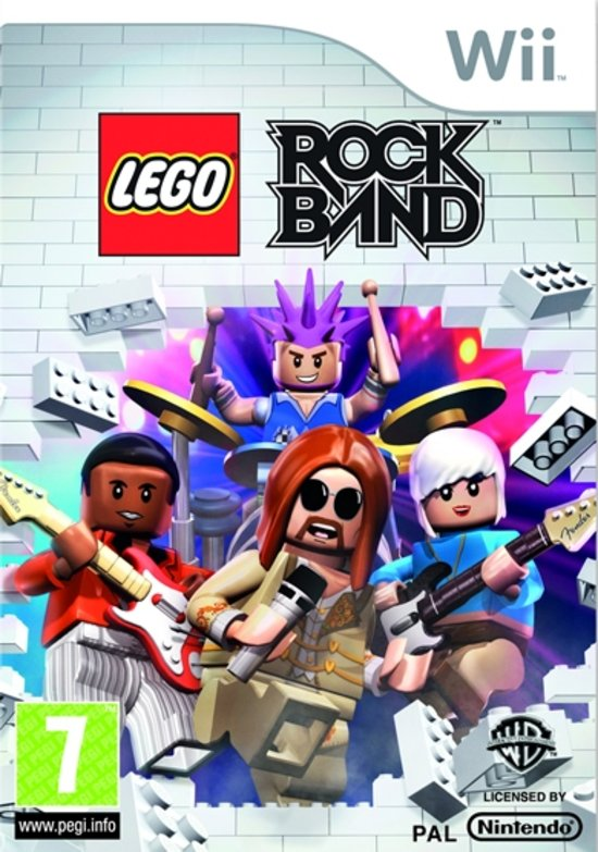 Lego Rock Band voor wii
