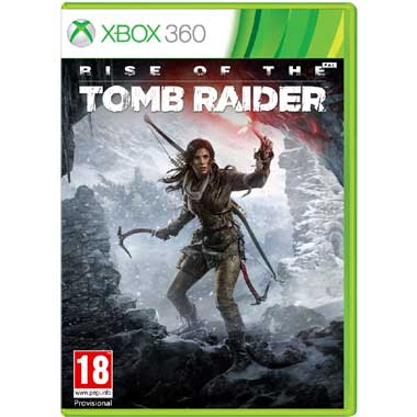 Rise of the Tomb Raider voor Xbox 360