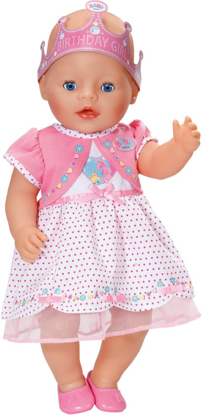 BABY born® Interactive Happy Birthday Doll