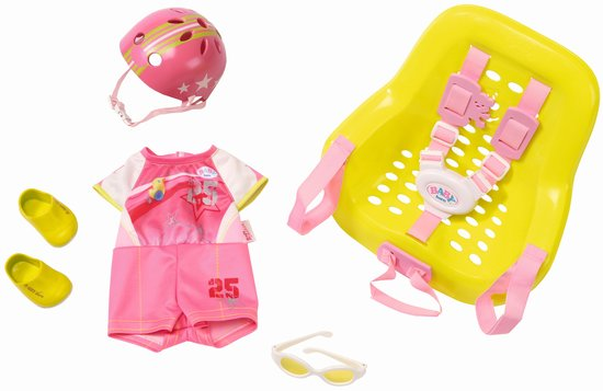BABY born® Happy Birthday Deluxe Bike Set