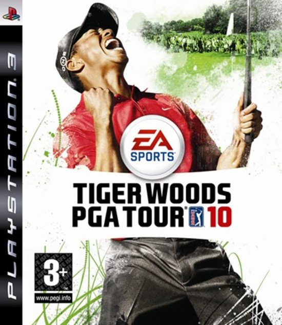 Tiger Woods PGA Tour 10 voor ps3