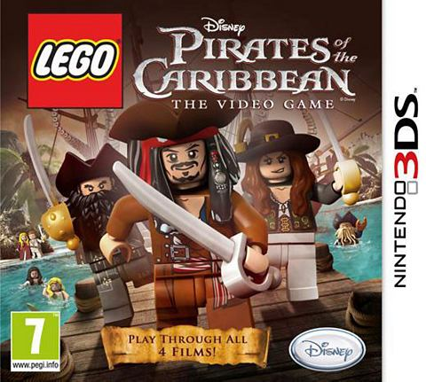 3DS Game  , Pirates of the Caribbean
