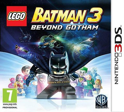 3DS Game LEGO Batman 3 Beyond Gotham