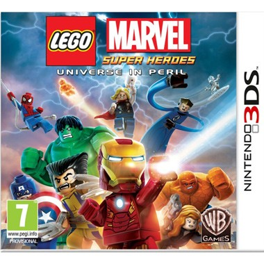 3DS LEGO Marvel: Super Heroes