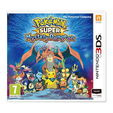 3DS Pokémon Super Mystery Dungeon