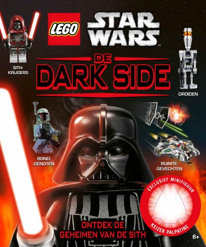 Boek Lego Star Wars De dark side