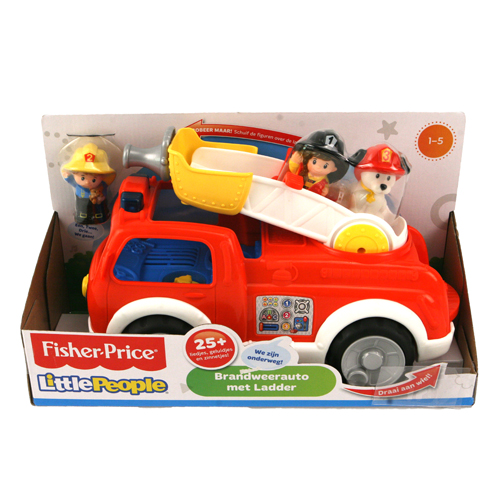 Brandweerauto Fisher Price Little People Met Ladder