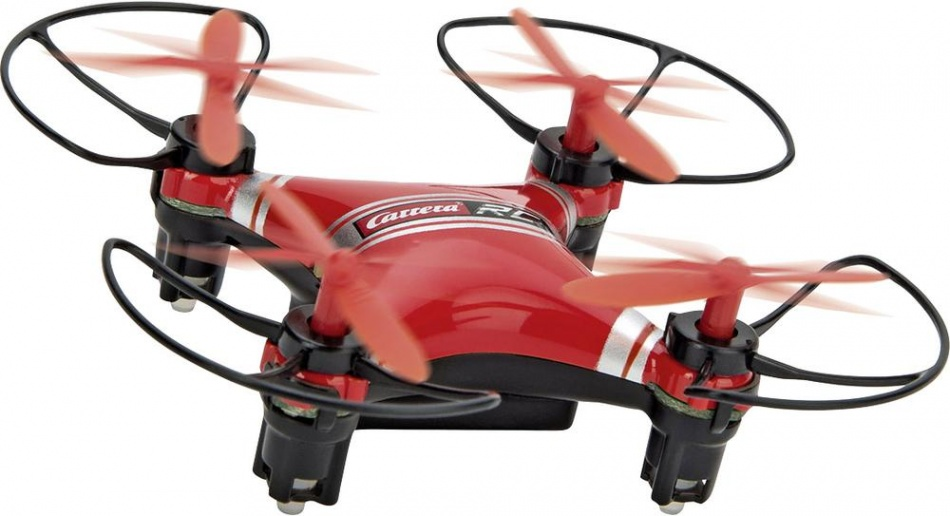 RC micro quadcopter 2 drone rood 8 x 8 cm
