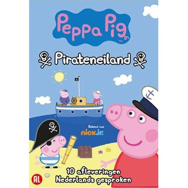 DVD Peppa Pig - Pirateneiland