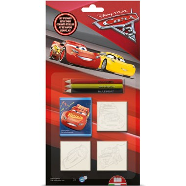 Disney Cars 3 stempels