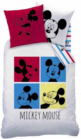 Mickey Mouse Photomotion 140x200/63x63cm multi