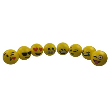 Emoticon anti stressbal